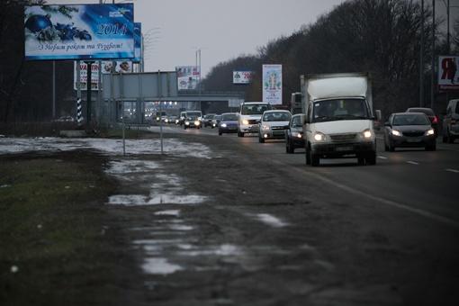 Вот тут Татьяну догнали и выволокли из машины. Фото: Олег Терещенко