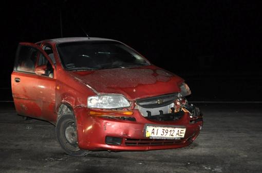 Черновол в борьбе с бандитами не пожалела машину. Фото: Мустафа Найем.