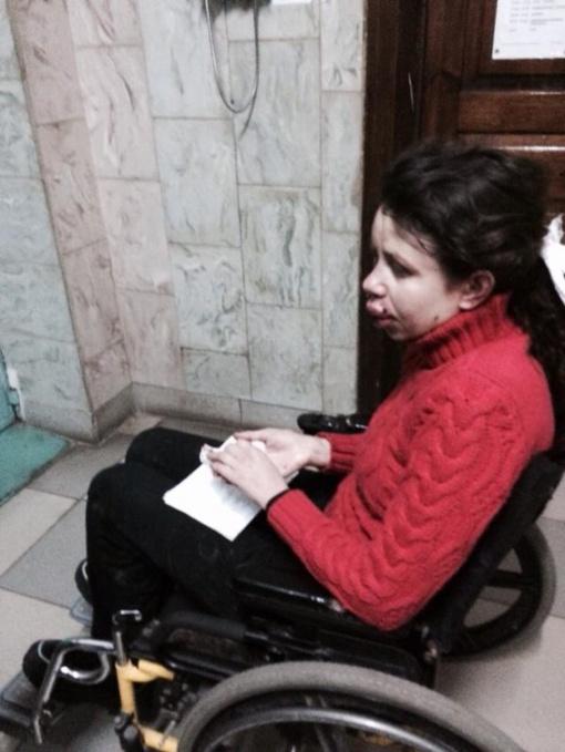 Журналистку жестоко избили, у нее множественные травмы лица и сотрясение мозга. Фото: Мустафа Найем.