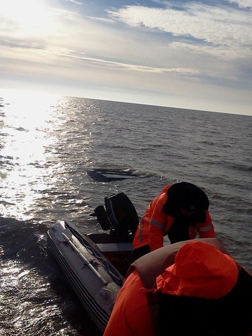 Рыбаков искали на лодке. Фото http://marsovet.org.ua