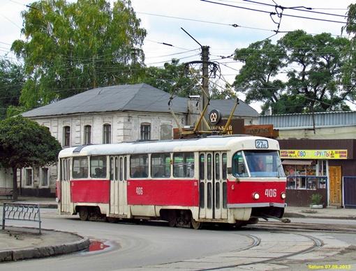 Tatra-T3. Фото: gortransport.kharkov.ua