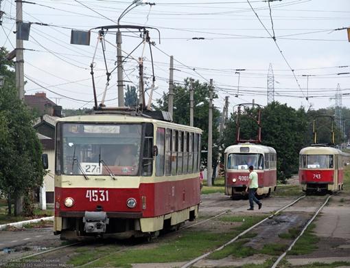 Tatra-T6В5. Фото: gortransport.kharkov.ua