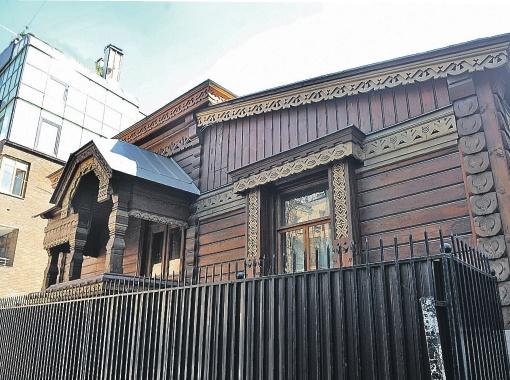 Дом Пороховщиковых недалеко  от Арбата считается гиблым местом.  Фото: Евгения ГУСЕВА.
