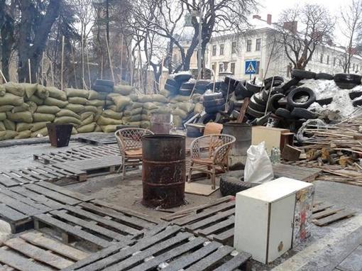 Львовская баррикада: продуманность и изящество. Фото: соцсети