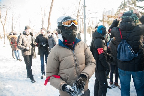 Подготовка к сражению. Фото: Максим Войтенко