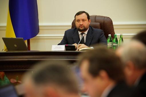 Арбузов на заседании Кабмина. Фото: Олег ТЕРЕЩЕНКО