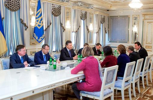 Встреча прошла в Администрации президента. Фото: Андрей Моисеенко