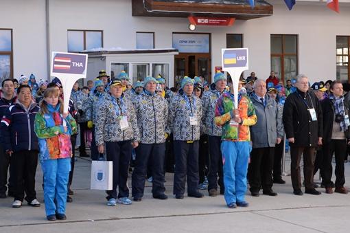 Украинцы на церемонии открытия. Фото автора