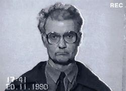 Чикатило после второго ареста. Фото: Википедия.