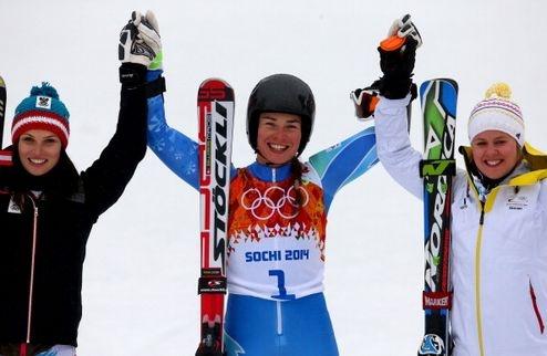 Тина Мазе завоевала золото. Фото: Getty Images