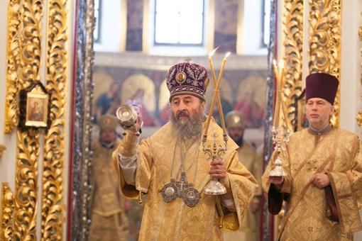 Местоблюститель Онуфий обратился к патриарху Кириллу. Фото с официального сайта УПЦ