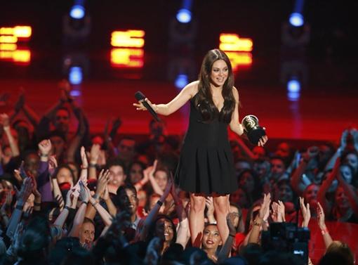 30-летняя актриса удостоилась награды за роль злодейки в картине