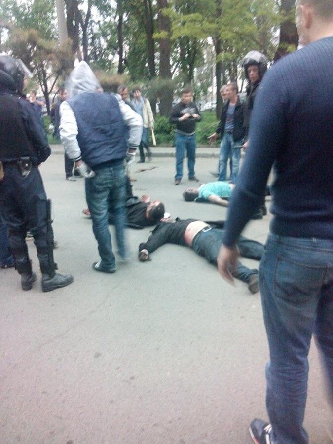 Жертвы беспорядков. Фото: соцсети