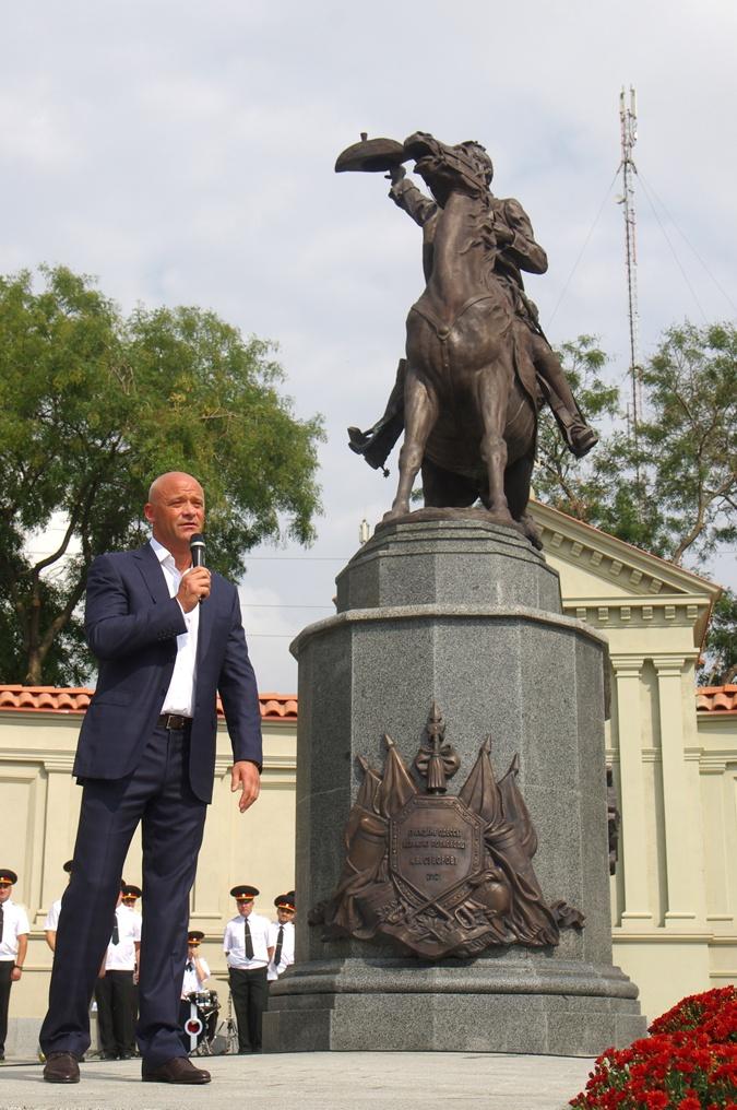 Самым ярким событием последних лет в Суворовском районе стало открытие памятника полководцу