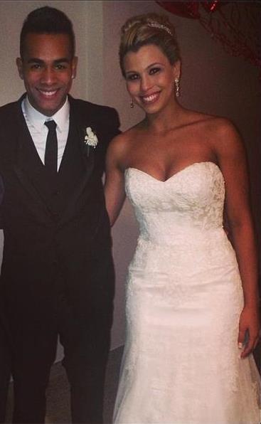 Счастливые супруги Алекс и Кристина Тейшейры, фото: instagram.com