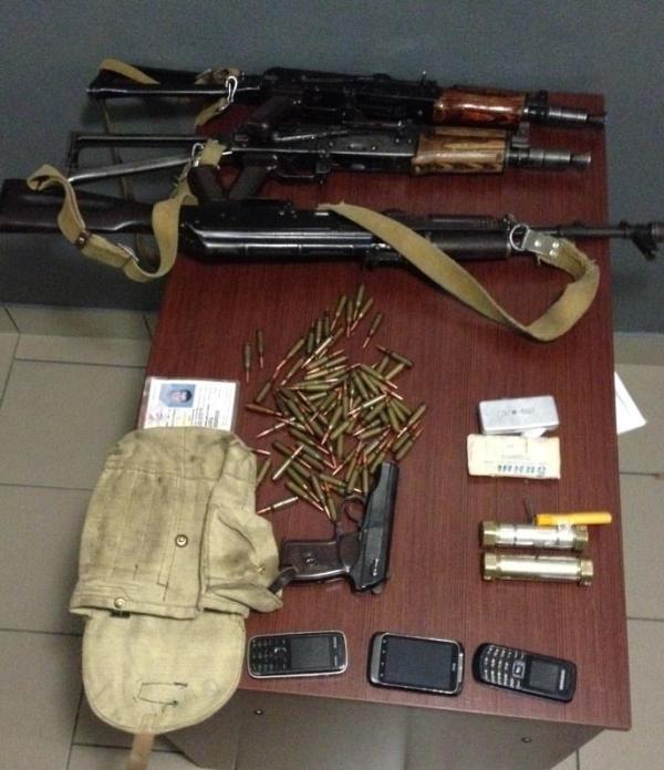 Изъятое оружие. Фото СБУ