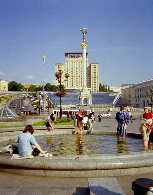Так выглядела главная площадь Киева до начала событий в 2013 году... Фото: Википедия