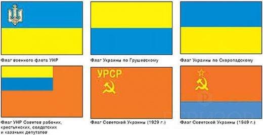 Значение цвета флага украины