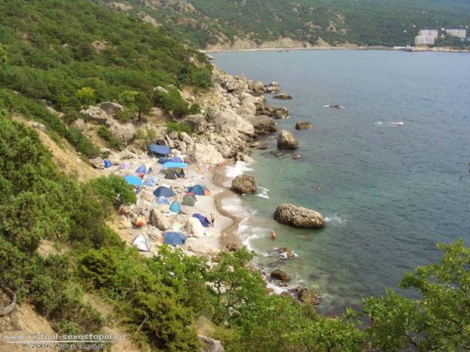 дикие пляжи крыма фото