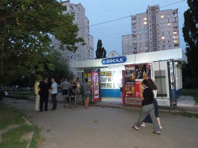 В милиции полагают, что сегодняшнее преступление - дело рук банды, которая орудует в Харькове много лет. фото: Наталья Амирханян