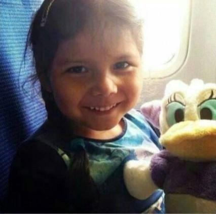 Девочка погибла вместе в другими пассажирами. Фото: соцсети
