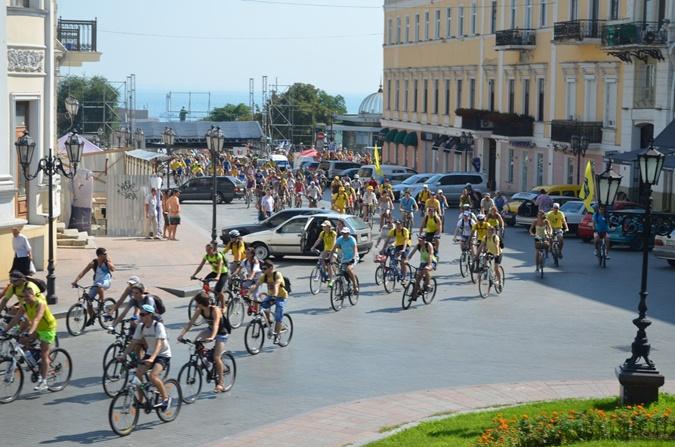 Полторы тысячи велосипедистов выбрали самый