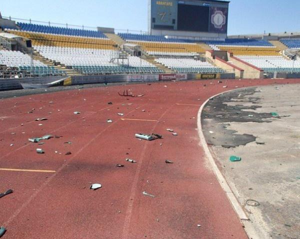 Как пострадал стадион «Авангард» (ФОТО), фото-1