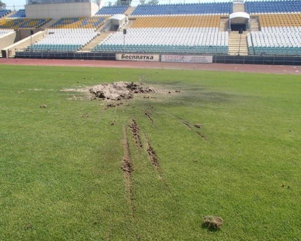 Как пострадал стадион «Авангард» (ФОТО), фото-3