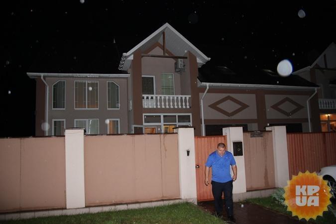 Дом, в котором нашли тело Семенюк.