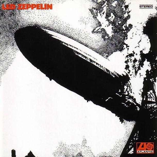 Обложка первого альбома Лед Зеппелина будет смотреться на аксессуаре очень элегантно.