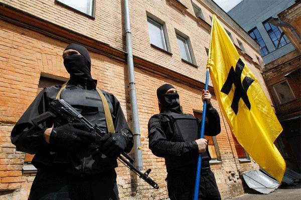 Бойцы батальона Азов. Фото: uainside.info