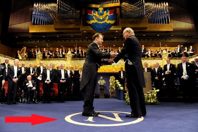 Эмблема Нобеля. Фото: www.gazeta.ru