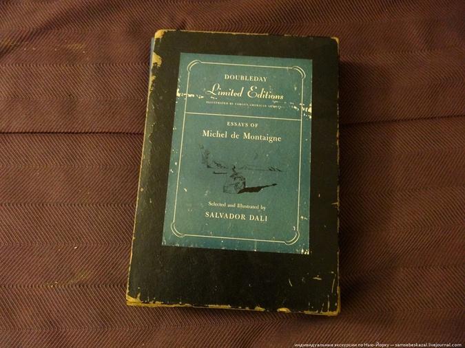 В мусорном баке нашли антикварную книгу с рисунками и автографом Сальвадора Дали фото 3