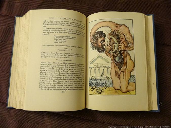 В мусорном баке нашли антикварную книгу с рисунками и автографом Сальвадора Дали фото 4