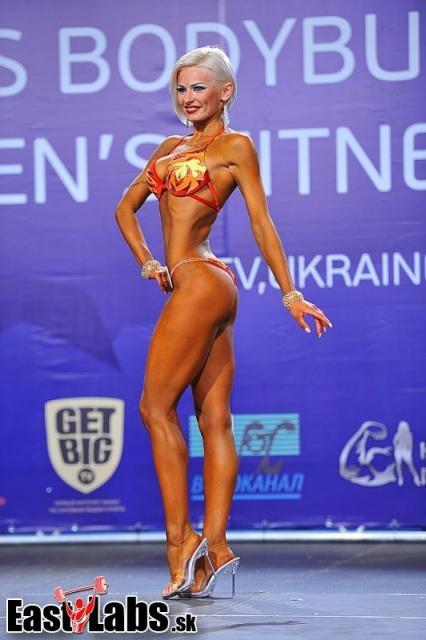 Фитнесс бикини киевлянка