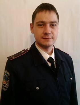 Саша Кондратьев проработал в милици два года. Фото: с сайта НУ МВД Украины в Киевской области