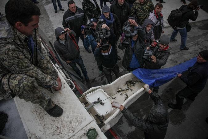 Стоимость рыбы порядка 300 000 гривен. Фото: Олег ТЕРЕЩЕНКО