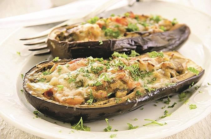 фаршированный перец с баклажанами рецепт с фото