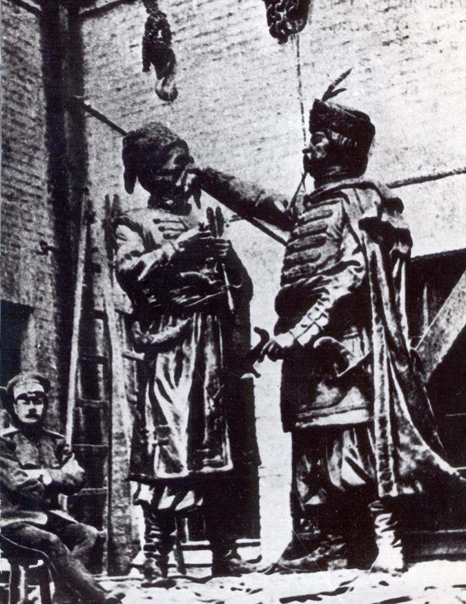 Открыть памятник Искре и Кочубею помешала война фото 2