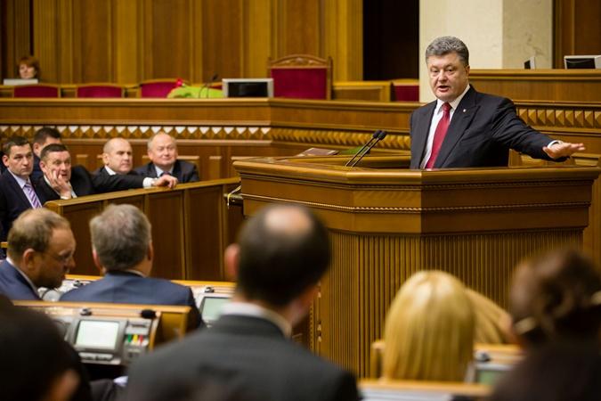 Петр Порошенко озвучил свою позицию по иностранцам в правительстве на первом заседании новой Верховной Рады. Фото: Михаил Палинчак