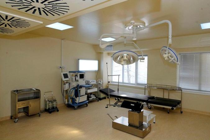 Так выглядели открываемые грузинские клиники внутри. Фото: facebook.com/SaakashviliMikheil