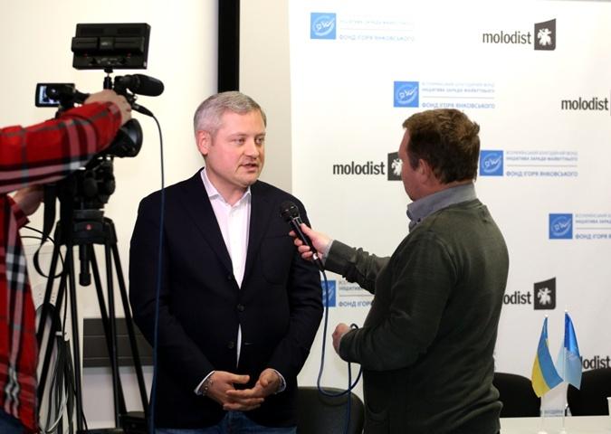 Игорь Янковский, Глава фонда