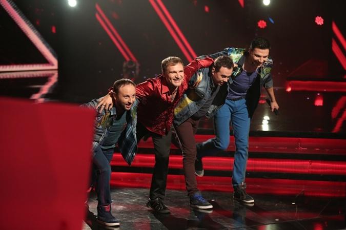 Олег Скрипка признается, что ему было очень комфортно на сцене с ребятами
