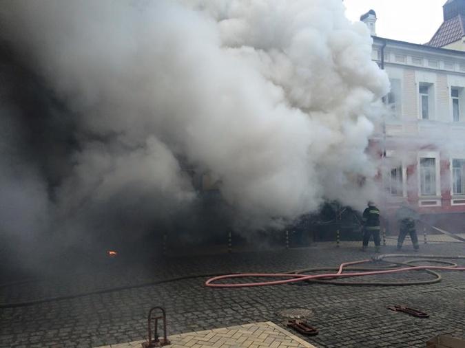 Дым охватил все здание. Фото соцсети