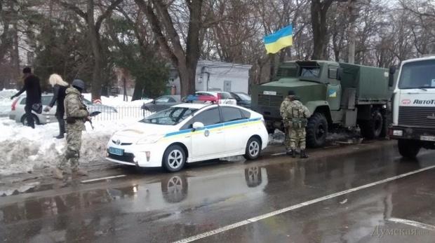 По городу будут ходить автоматчики. Фото: dumskaya.net