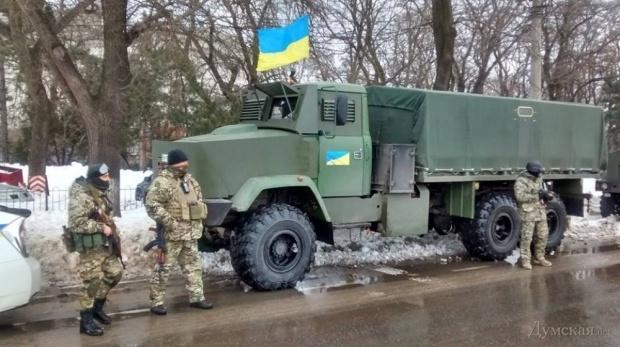Патрулирование Одессы усилят нацгвардейцами. Фото: dumskaya.net
