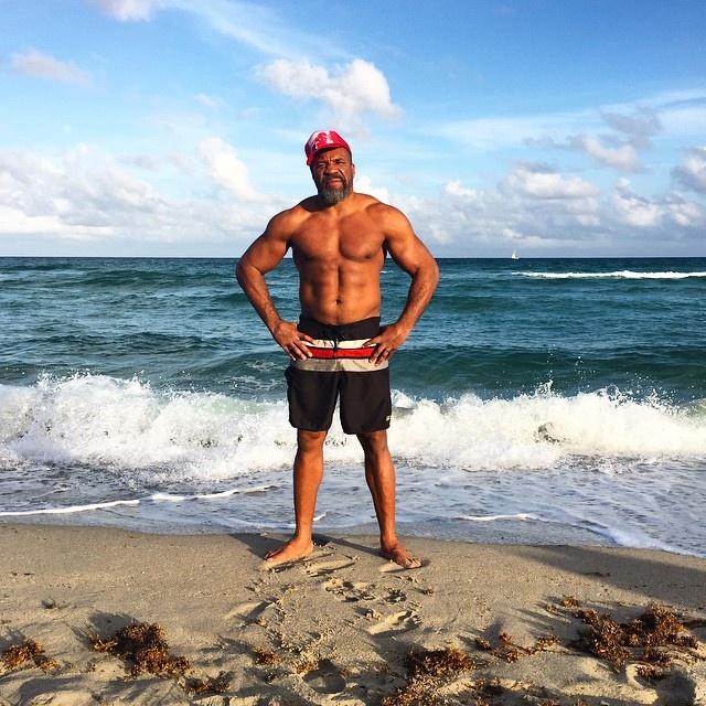 Бриггс уже выследил Кличко в Майами. Фото: Instagram