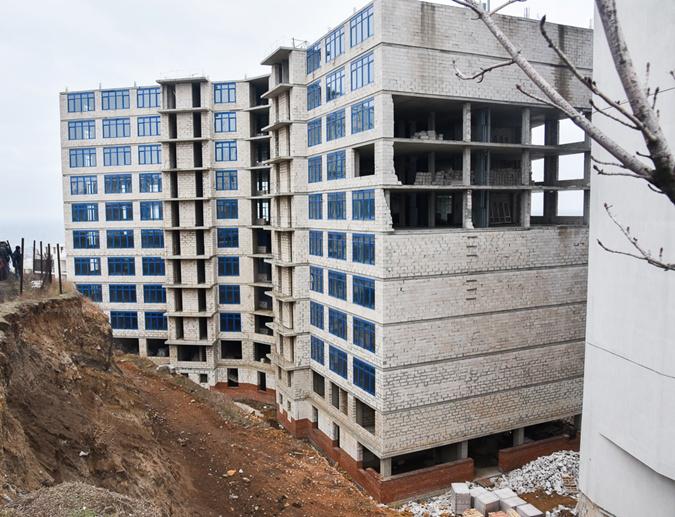 20-этажная гостиница – самый старый из одесских долгостроев.