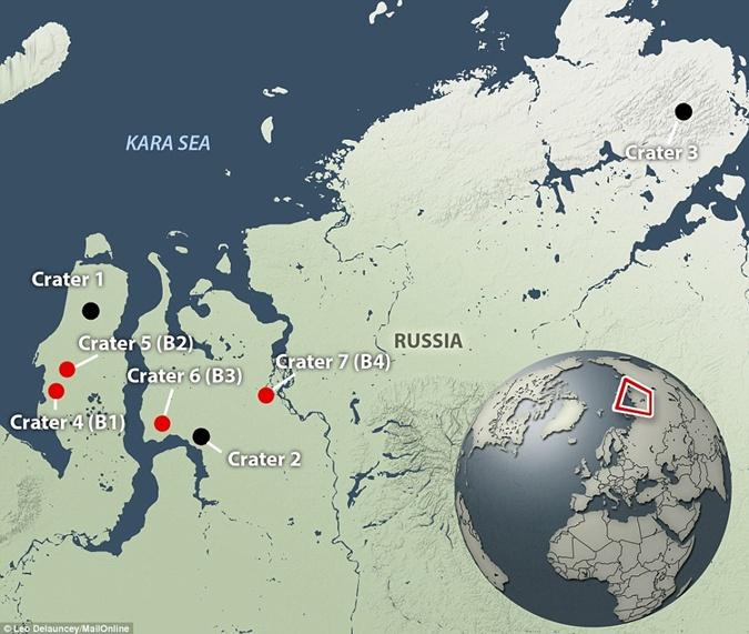 Первый кратер в Сибири обнаружили еще в 2013 году.