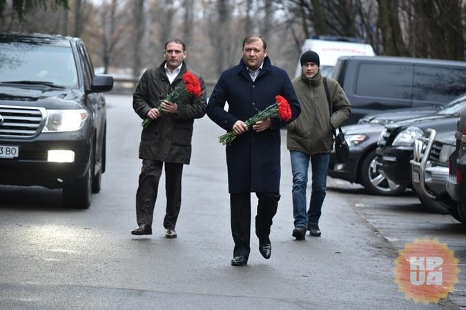 Михаил Добкин приехал попрощаться с Михаилом Чечетовым.